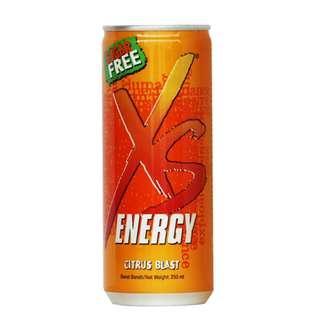 Xs Energy Drink (Sugar free)