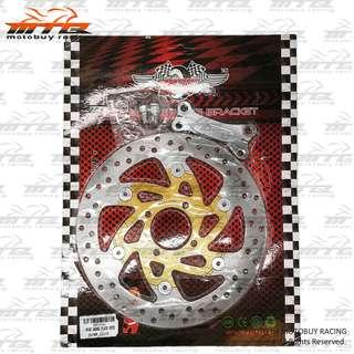 YAMAHA LC135 (4S) RACING DISC PLATE WITH BRACKET (FOR MODIFY TO 267MM)