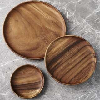 Crate & Barrel Tondo Plate