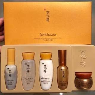 雪花秀滋陰生人參煥顏5件裝 Sulwhasoo Concentrated Ginseng Renewing Ex Kit