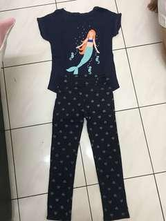 Shirt & Pants for 4-5 y old, very good condition no defects. Original H&M brand