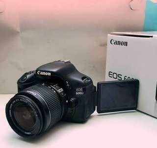 Canon 600D cash&Kredit proses cepat hanya 3 menit free 1x cicilan