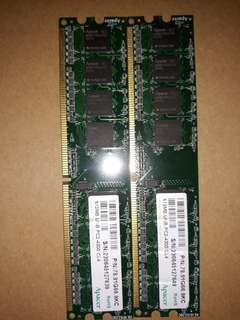 Apacer 1GB DDR2 Ram