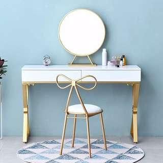 CINDY MAKEUP TABLE VANITY TABLE