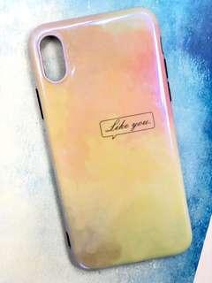 iPhone X XS case 手機軟殼 99% new