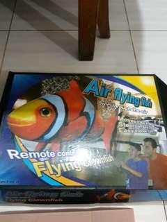 Mainan rc Air flying fish