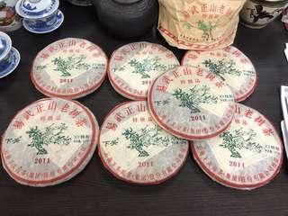 2011年下關易武正山老樹茶 普洱生茶,357克左右/餅