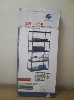 5 Shelf Storage Rack & Workbench (Boltless)