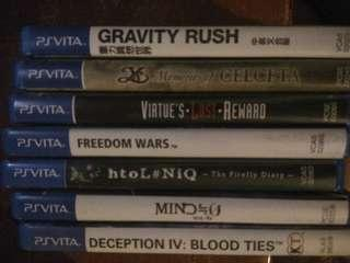 PsVita Games