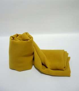 Polycotton Square Mustard