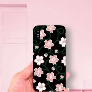 iPhone Case 和風櫻花手機殼 包順豐