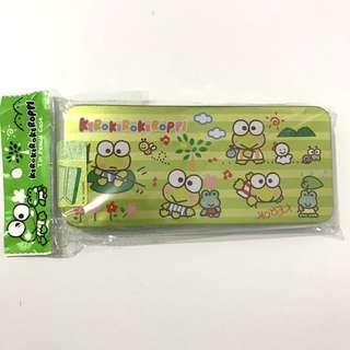 包平郵 全新 keroppi 青蛙仔 筆盒