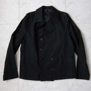 🚚 Dior Homme Double Breasted Cropped Peacoat Jacket Outerwear