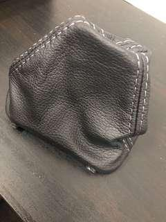 VW MK5/6 DSG Leather Shift Boot with Grey Stitching