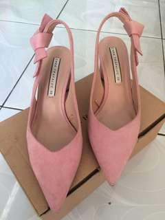 Original Zara Women Pink Shoes #onlinesale