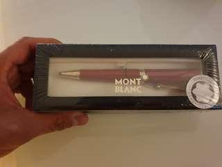 Mont Blanc Muses Marilyn Monroe SPECIAL Edition Red Ballpoint pen