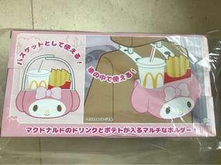 My Melody Drink & Fries Holder