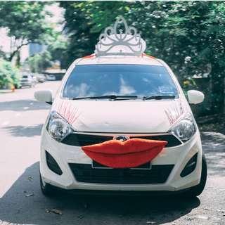 Unique Wedding Car Decoration (Bride & Groom Cars)