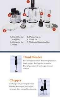 HAND BLENDER LOCK N LOCK NEW