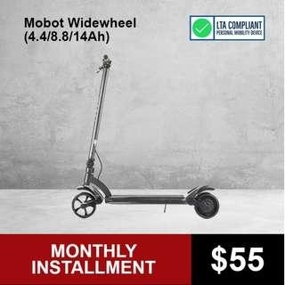 Mobot WideWheel (4.4/8.8/14Ah) Electric Scooter