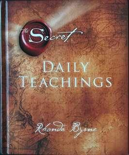 The Secret - Daily Teachings byRhonda Byrne