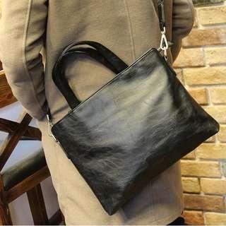 Wondrous Smooth Black Briefcase