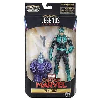 Marvel Legends - Star Force Yon-Rogg - Captain Marvel (Kree Sentry Wave) Hasbro / Toybiz
