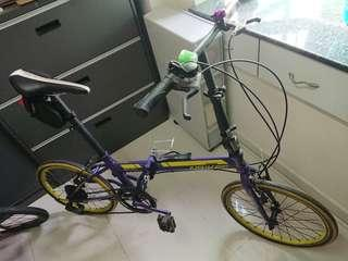 Naikes foldable bike 代步摺車