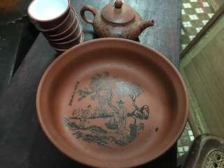 🚚 紫砂壺茶杯組