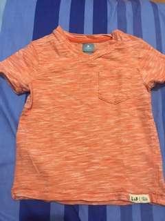 Baby Gap Orange Shirt