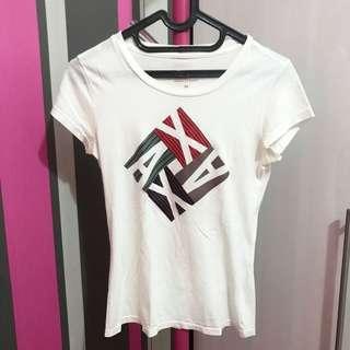Authentic armani exchange t-shirt