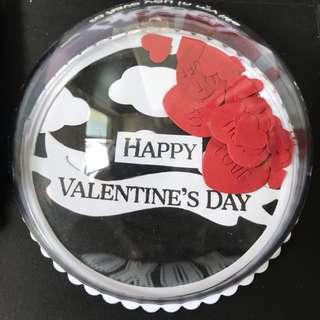 Happy Valentine day Explosion box Card with shaker globe