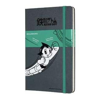 [PO] Moleskine Astroboy Grey Large Lined Notebook