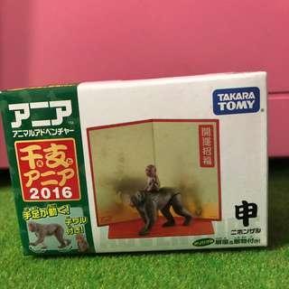 🚚 Takara Tomy多美動物猴子.母猴幼猴新年快樂特別版