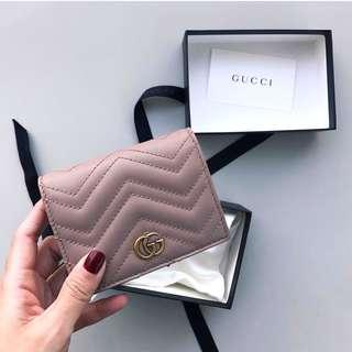 Brand New Gucci GG Marmont Card Case