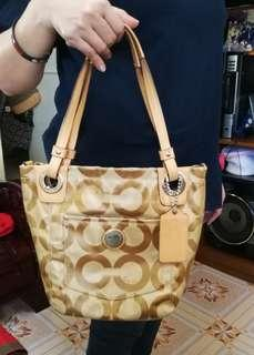 Coach bag preloved from japan.plus shipping fee.