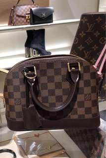 🚚 全新 精品  Louis Vuitton LV N41221 ALMA BB 小手提艾瑪包