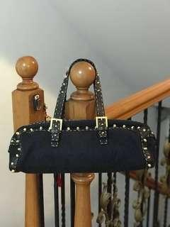 Authentic Fendi Selleria studded Bassotto bag