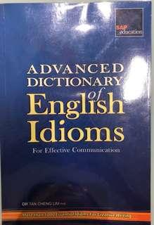 English Idioms Advanced Dictionary
