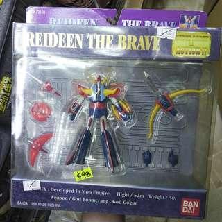 全新 絕版 勇者 雷登 SUPER ROBOT IN ACTION Brave Reideen Raideen 勇者萊丁