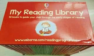 [brand new] Usborne my second reading library set of 50 books