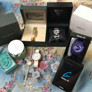 pre-loved authentic watches & ring