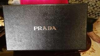 Prada wallet,preloved from japan.plus shipping fee