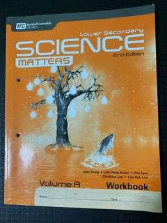 Lower secondary science matters workbook