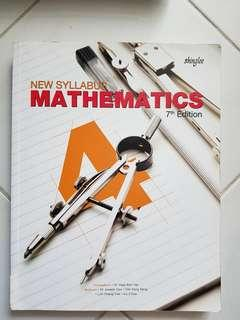 Upper secondary text books for science and maths