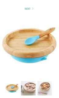 Avanchy Classic Suction Plate and Spoon