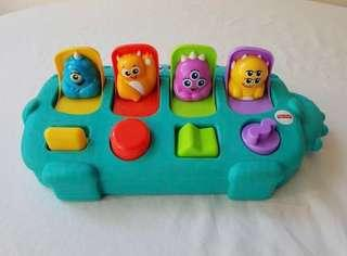 Fisher Price Monster Pop-Up Surprise