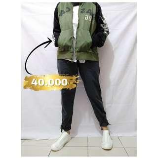 Jaket pria wanita   bomber jaket   jaket jeans   jaket army