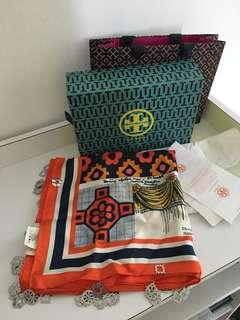 Tory Burch Brand new authentic full set with receipt 90/90/cm