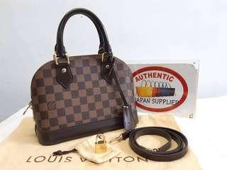 louis vuitton alma bb damier 2way
